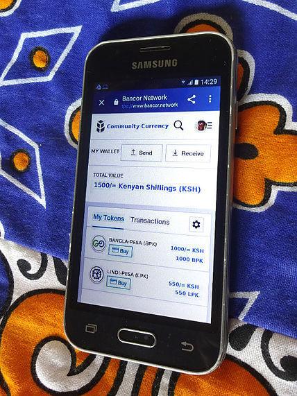 Bancor Network mobile phone Kenya