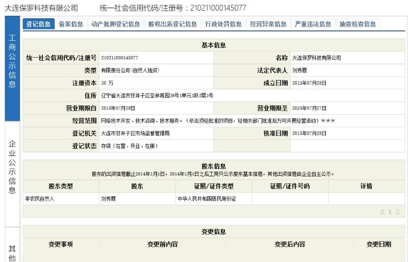 Bao Luo Technology Company