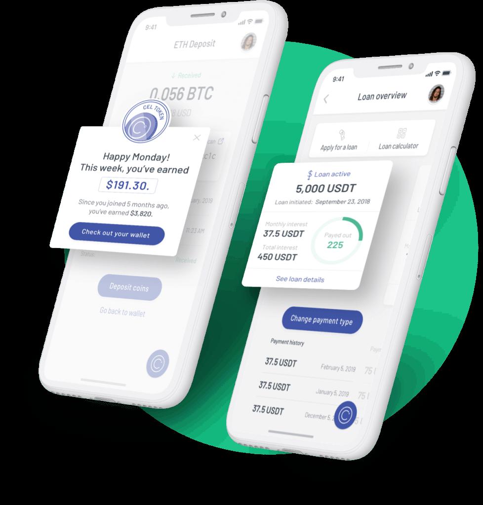 Celsius Network app