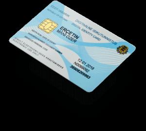 Estonia eResident digital ID card
