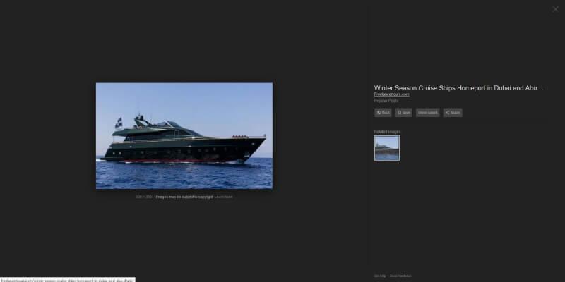 Not Craig Wright's Yacht