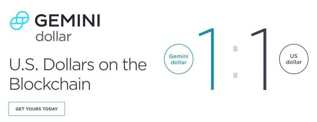 Gemini Dollar, via Gemini