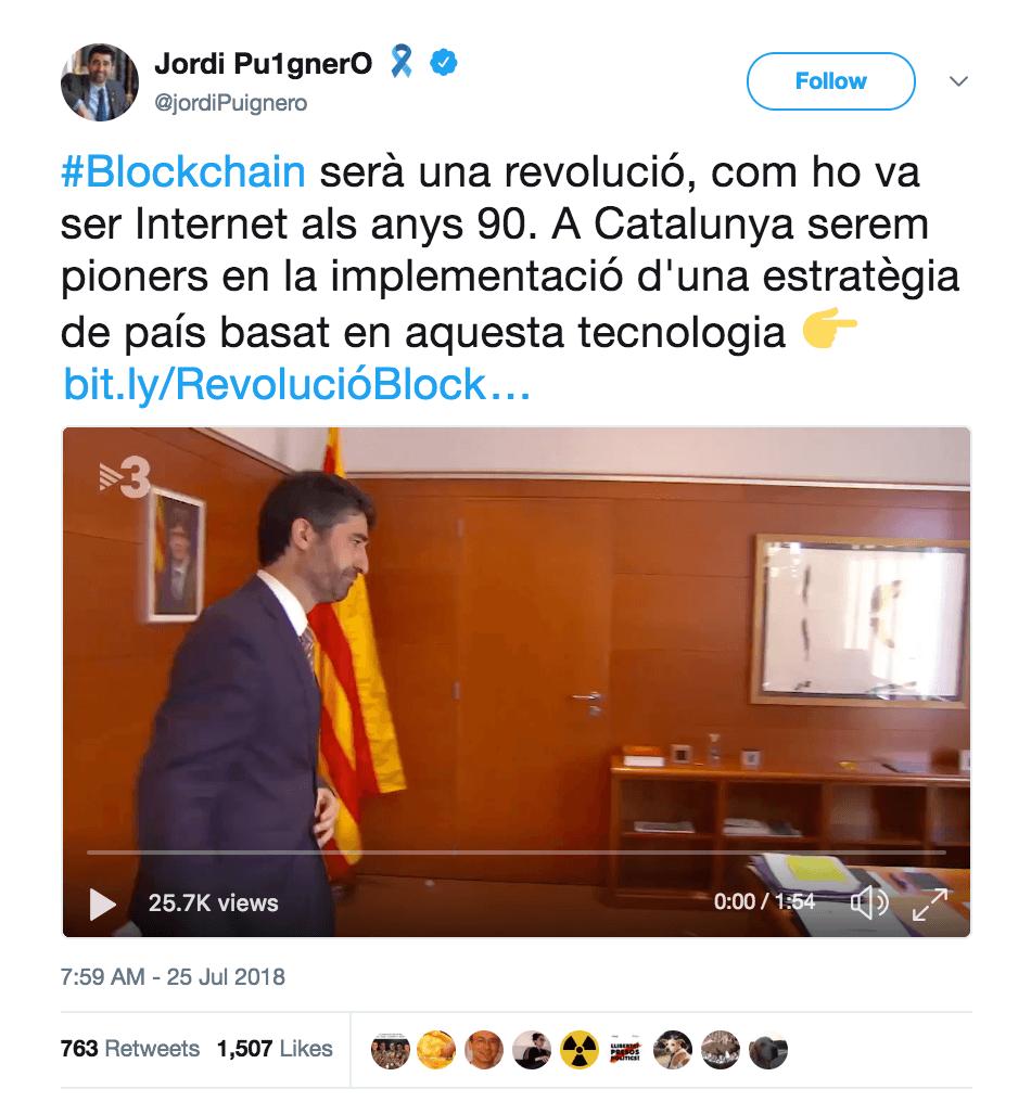 Jordi Puignero, counselor at the Department of Digital Policies, Twitter