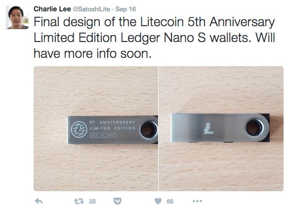 litecoin-5th-anniversary-ledger