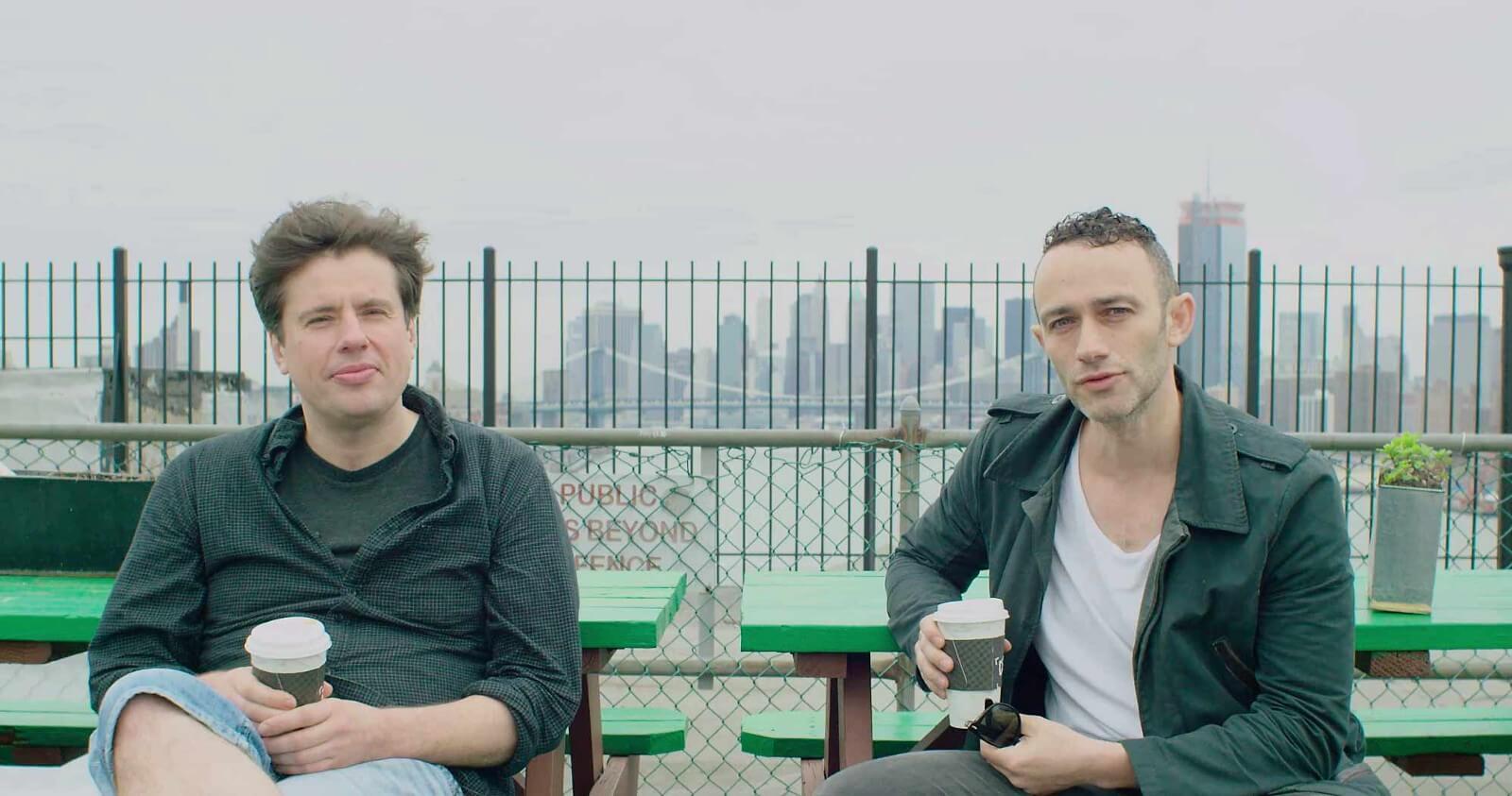 Snark.art co-founders, Andrey Alekhin, CEO, and Misha Libman, head of product