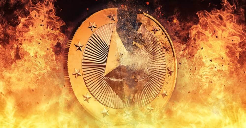 Ethereum burning