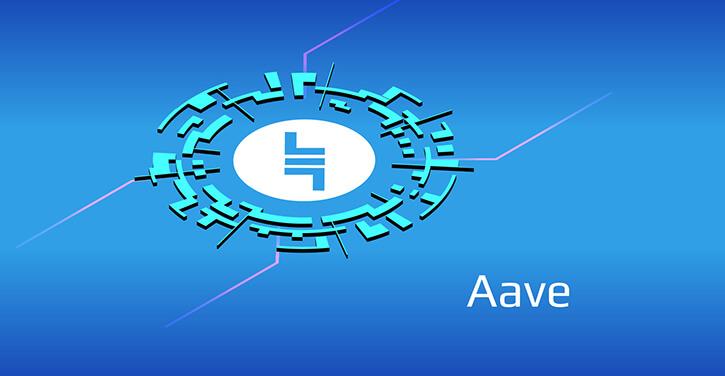 Aave Lend token of the popular DeFi platform
