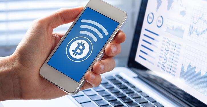 Sending Bitcoin via mobile