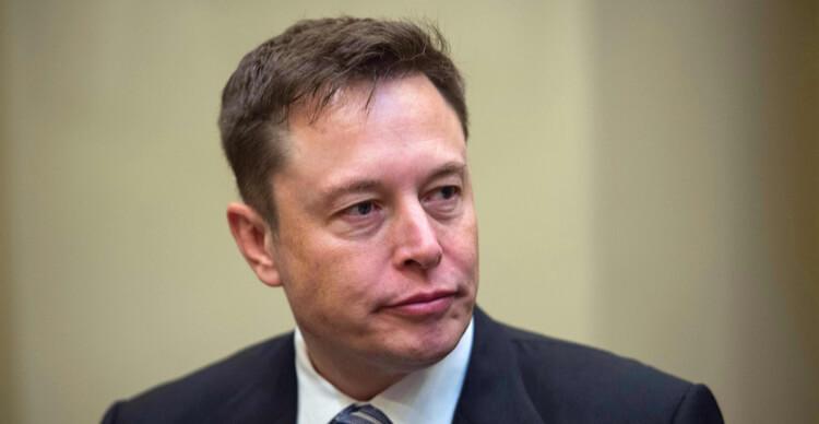 Close-up of Elon Musk