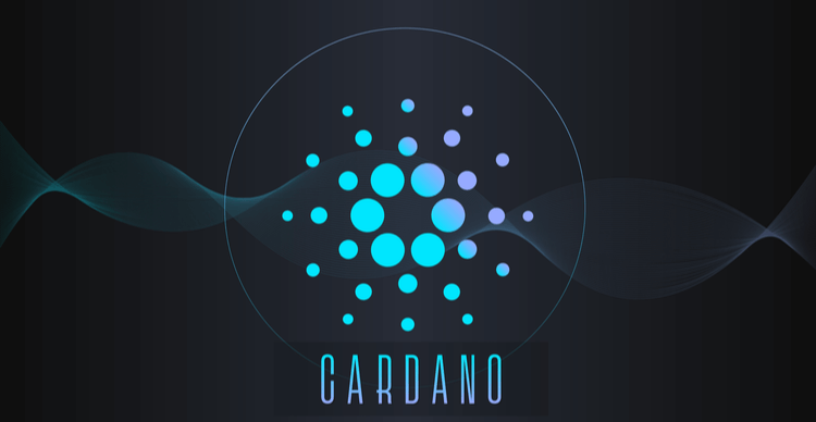 An image of the Cardano coin symbol
