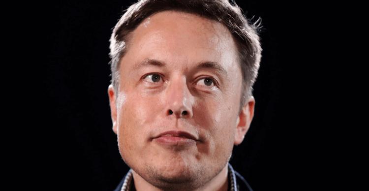 An image of Elon Musk, Tesla's chief executive