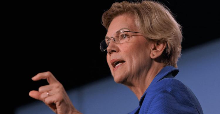 An image of Senator Warren who represents Massachusetts